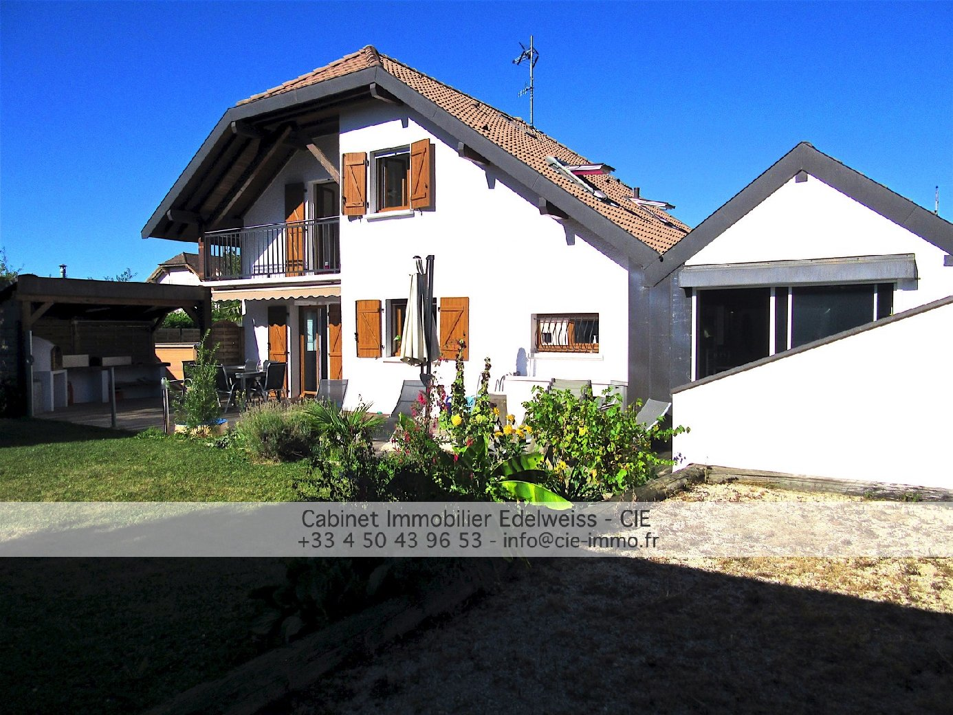 vente maison VALLEIRY 6 pieces, 130,32m